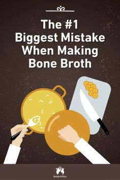 The Biggest Mistake You Can Make When Making Bone Broth Don't make this major mistake when making bone broth! One small change to your bone broth recipe makes it the nutrient powerhouse you love. Slow Cooker Bone Broth, Bone Broth Soup, Making Bone Broth, Beef Broth, Instapot Bone Broth, Bone Broth Crockpot, Bone Marrow Broth, Chicken Bone Broth Recipe, Chicken Bone Broth Benefits