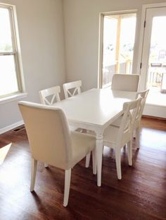 Ikea ingatorp tableINGATORP   INGOLF Table and 4 chairs  white   Ikea fans  . Dining Table Ikea Hack. Home Design Ideas