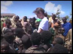Audrey Helpburn - helping UNICEF alert the world to the problems in Somalia in 1992.  Audrey Hepburn in Somalia with UNICEF.