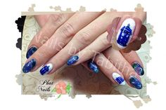 Nerdy nails for Doctor Who fans by one of the NailPro users.