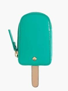 Turquoise Kate Spade Popsicle Coin Purse - Wantering