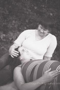 LGBT Lesbian Maternity Photo Session