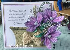 World Cruise, Tattered Lace Cards, Presents For Mom, Smiles And Laughs, Cards For Friends, Carnations, Art Studios, Make Me Smile, Birthday Cards