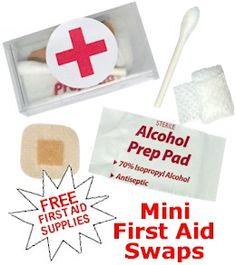 Mini Frist Aid Swaps