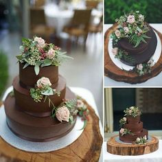natural flowers atop of mexican chocolate wedding cake Angelica Peady Photography Wedding Cake Designs, Wedding Cake Toppers, Beautiful Cakes, Amazing Cakes, Mexican Chocolate, Cake Chocolate, Chocolate Wedding Cakes, Chocolate Frosting, White Chocolate