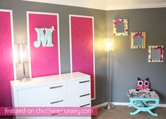 Wall paneling idea is cute, could be done by papering hanging mirrors?