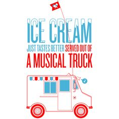 Ice Cream Musical Truck