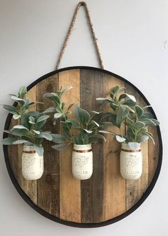 Wine Barrel Crafts, Wine Barrel Rings, Whiskey Barrels, Bourbon Barrel, Whiskey Barrel Decor, Mason Jar Holder, Mason Jars, Mason Jar Picture, Rustic Shed