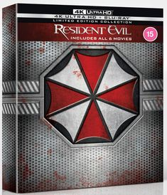 Resident Evil: The Complete Collection | 4K Ultra HD Blu-ray | Free shipping over £20 | HMV Store Resident Evil, Eric Mabius, New Survivor, Mike Epps, Maximum Carnage, Umbrella Corporation, Cruel Intentions, Alien Vs, Milla Jovovich