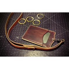 Id Badge Holders, Id Holder, Leather Luggage Tags, Leather Wallet, Handmade Leather, Leather Craft, Leather Badge Holder, Leather Design, Leather Jewelry