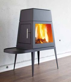 Skantherm Shaker Short Wood Burning Stove From Fireplace Products