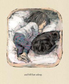 "From ""Hannah's Night"" illustrated by Komako Sakai"