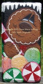 This Is A Decorative Painting Packet That Includes Full Color Photo, Line  Drawing And Instructions.