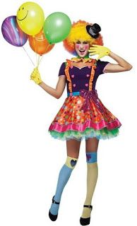 Costume Ideas for Women: Top Five Colorful Clown Costumes for Women