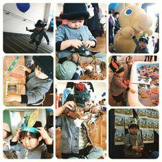 Instagram media hirooomiii - #空色のホリデー #世田谷ものづくり学校 #ワークショップ #毛糸玉モンスター #x-girl #サンダル釣り #ロディ