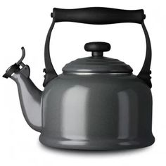 Granite/Traditional Kettle with Whistle grey