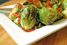 Thai Glazed Brussels Sprouts by A Nutritionist Eats