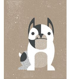 Two Arms Inc. - bulldog print