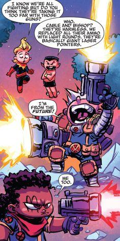 Giant-Size Little Marvel: AvX #1 (2015) written by Skottie Young art by Skottie Young & Jean-Francois Beaulieu
