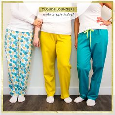 Cloud9 Loungers by Cloud9 Team Quilter's Cotton from Make It Sew Projects for Cloud9 Fabrics