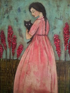 """a friend""  Kim Duncan art"