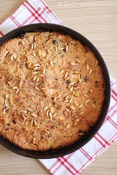Torta di pane raffermo e mele