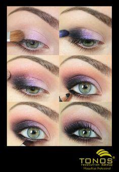 ¡Maquillarse no debe ser algo complicado ni estresante para ti! ¡Sigue este sencillo paso a paso y comienza a darle luz  y magia a tu mirada!