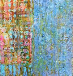 Encaustics, mixed media Karen Harris