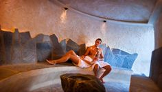 Zona Relax dell'hotel Corona a San Vigilio di Marebbe