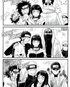 Imagen de hinata, kiba, shino and naruto Naruhina, Naruto Comic, Naruto Uzumaki Shippuden, Naruto Cute, Naruto Shippuden Sasuke, Naruto Kakashi, Funny Naruto Memes, Naruto Shippuden Characters, Naruto Teams