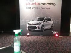 En su lanzamiento Oficial los All-New #Kia Picanto 2018, brilla de manera espectacular gracias a Magic Clean Car y sin utilizar una gota de AGUA #lavasinagua #lavaenseco #lavatuautoenseco