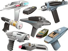 Star Trek Phasers