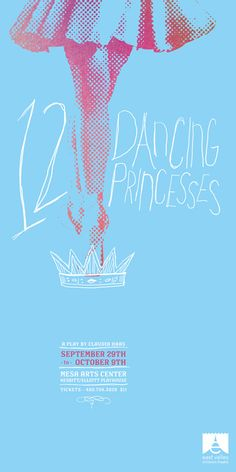 East Valley Children's Theatre Posters by TunnelBravo , via Behance Ballet Posters, Theatre Posters, Children's Theatre, Seasons Posters, 12 Dancing Princesses, Marketing Poster, Ballet Art, Kids Poster, Design Competitions