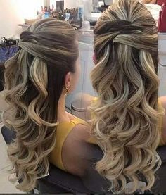 Super wedding hairstyles curly to the side low buns ideas Up Hairstyles, Pretty Hairstyles, Wedding Hairstyles, Bridesmaid Hair, Prom Hair, Homecoming Hairstyles, How To Make Hair, Hair Dos, Bridal Hair