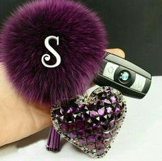 Cheap keychain video, Buy Quality keychain ring directly from China ball class Suppliers: 2015 fur pom pom keychain Fox Fur Key chain Double Side Crystal Heart Fur Ball Keychain llaveros porte clef fou Fur Keychain, Tassel Keychain, Fancy Letters, Floral Letters, Letter Monogram, S Letter Images, Alphabet Images, Alphabet Art, S Love Images