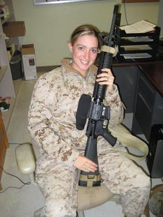 RIP Casey L. Casanova - You'll always be in our hearts! (This is one of the last pictures taken of her on MCB Camp Pendleton, before deploying for the LAST time.)  God bless her and her family!