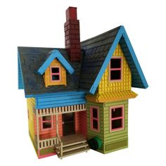 UP House Model Painted/Assembled. Disney UP House Model Painted/Assembled - BirdsWoodShack. Are you ready for an adventure? Come get a painted and assembled Disney UP House model. Great for weddings, birthdays, presents, etc. Disney Up House, Disney Movie Up, Up Movie House, Up Theme, 3d Modelle, Baltic Birch Plywood, Wooden Puzzles, Disney Christmas, Kit Homes