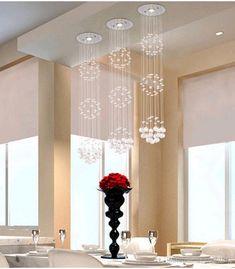 Modern Crystal Chandeliers Ceiling Crystal Pendant Lamp Living Room Lights Dining Room Crystal Chandelier And Pendants Crystal Drop Lights From Britlighting, $31.42 | Dhgate.Com
