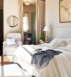 Todo al blanco: dormitorios llenos de luz