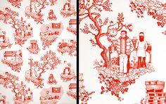 – Toile Wallpaper