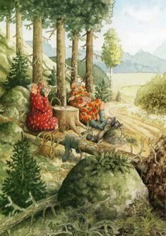 Wholesale Fantasy Greeting Cards and Postcard from Inge Look,Amy Brown, Nene-Thomas, Kinuko Craft ,Linda Ravenscroft . Norman Rockwell, Old Lady Humor, Illustrations, Whimsical Art, Old Women, Amy Brown, Watercolor Art, Sisters, Fantasy