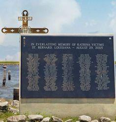 St. Bernard Katrina Memorial