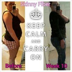 This is Chantal! She is certainly carrying on and loosing weight. Thank you Skinny Fiber. Get your skinny on here → http://AMcCann.SkinnyFiberPlus.com