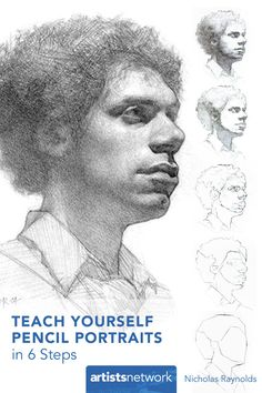 How to Draw Exhibit-Worthy Pencil Portraits in Just 6 Steps! #drawing #portraitdrawing