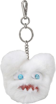 Pin for Later: Pimp Your Purse With the Cutest Bag Charms and Accessories Karl Lagerfeld Monster Plush Choupette Charm Karl Lagerfeld Monster Plush Choupette Charm (£125)