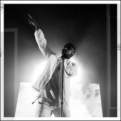 Big Sean rocking ILU white coaches jacket at the Rave in Chicago. I Love Ugly, Big Sean, Hot Guys, Hot Men, Hip Hop, Instagram Posts, Rave, Chicago, Coaches