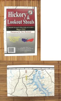 Chartaps 179987 Hickory And Lookout Shoals North Carolina Kingfisher Maps Inc