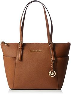 MICHAEL Michael Kors Jet Set Top-Zip Tote (One Size, Luggage)