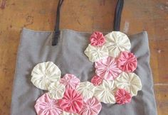 simple embellishments for tote bags