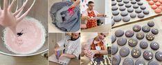 RECEPT: Pravé francouzské makronky šéfa Olivera – vyzkoušeno přímo v Paříži - Recepty - Svět cukrářů Meringue, Macarons, Low Carb, Baking, Cake, Desserts, Food, Notes, Kitchens